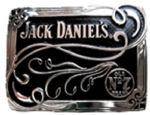 Jack Daniel's Scroll Belt Buckle. Product code: WH2